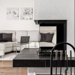 Lounge fireplace commercial industrial architects Sydney